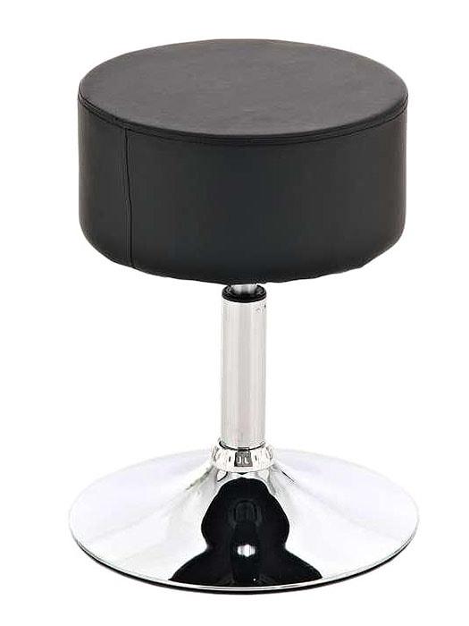 Stolička / židle bez opěradla Lena kůže