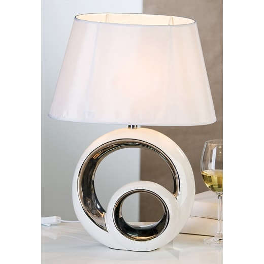 stoln lampa keramick circle 48 cm stoln lampy. Black Bedroom Furniture Sets. Home Design Ideas