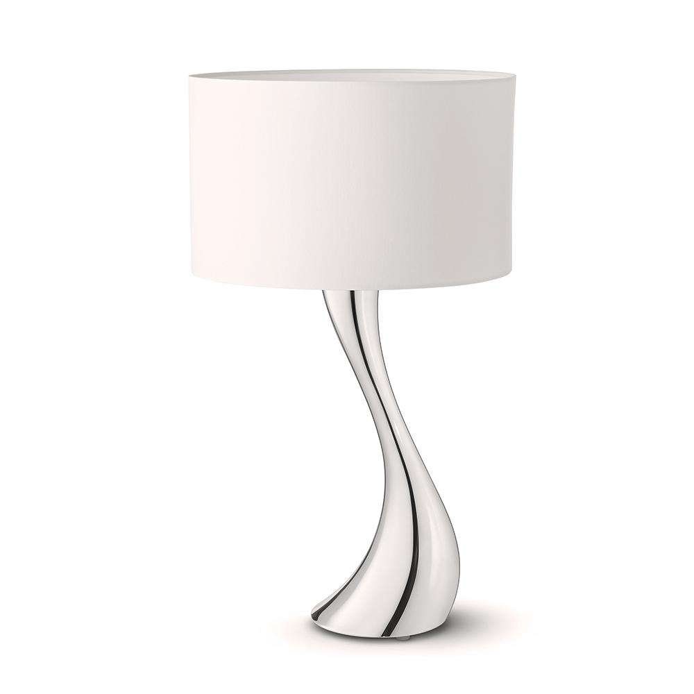Stolní lampa Cobra, malá, bílá