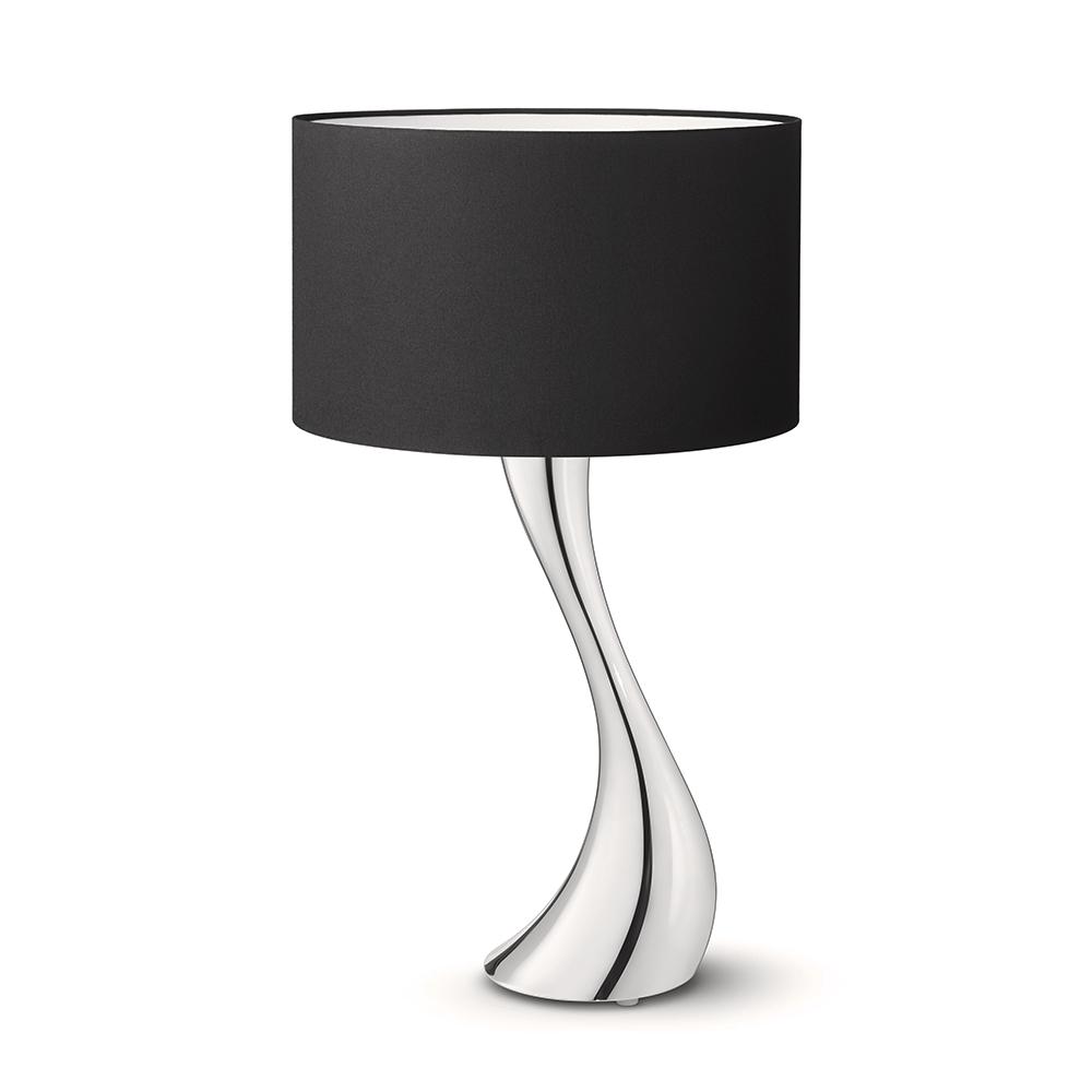 Stolní lampa Cobra, malá, černá