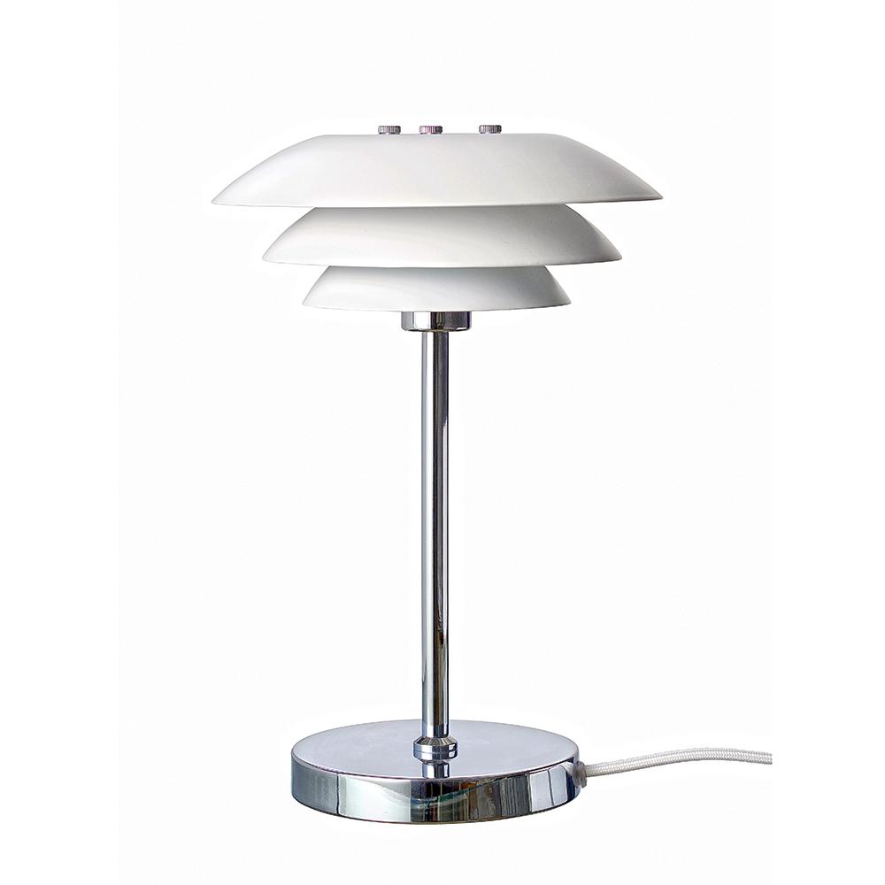 Stolní lampa DL20, 30 cm, bílá