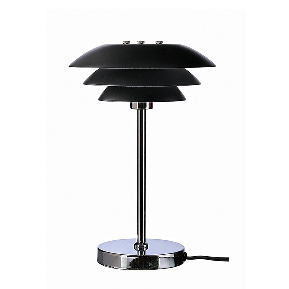 Stolní lampa DybergLarsen DL20, 30 cm, černá