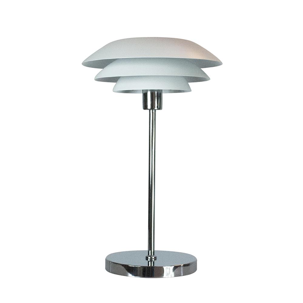 Stolní lampa DybergLarsen DL31, 50 cm, bílá