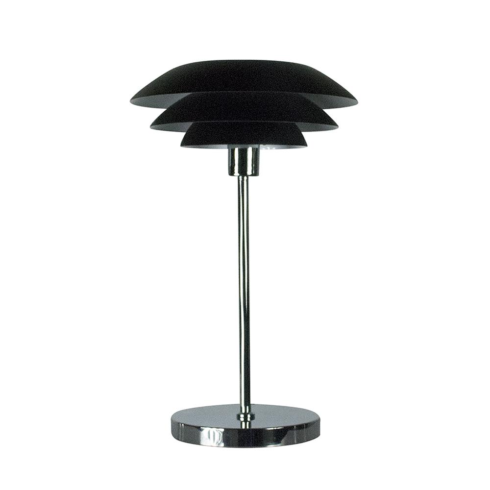 Stolní lampa DybergLarsen DL31, 50 cm, černá