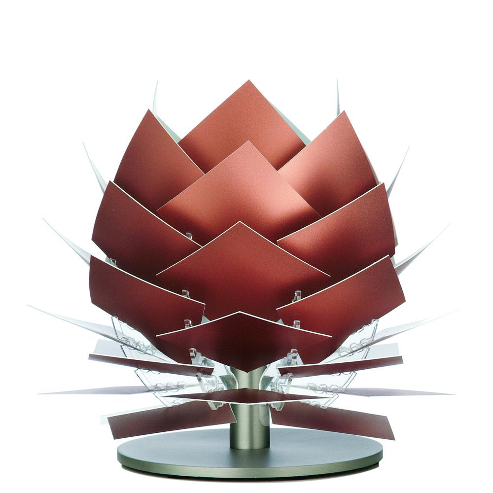 Stolní lampa DybergLarsen PineApple XS, 22 cm, měď