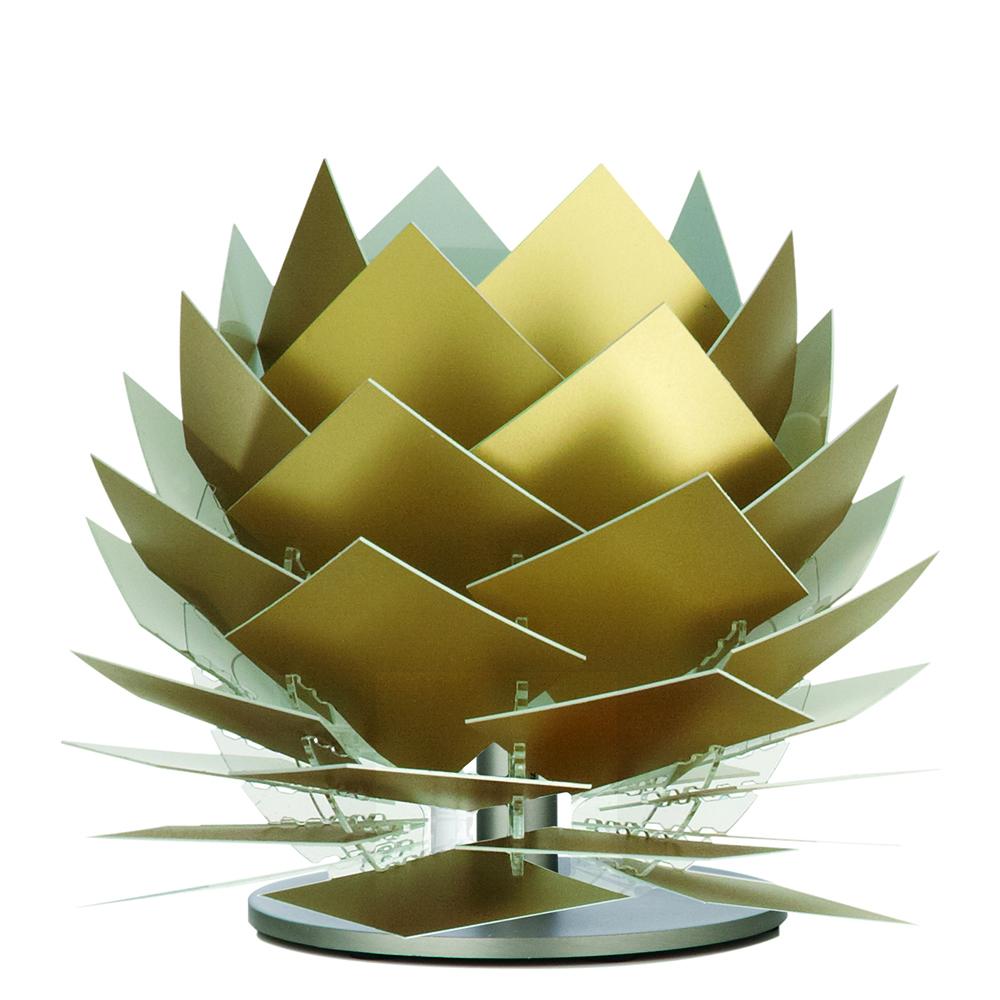Stolní lampa DybergLarsen PineApple XS, 22 cm, zlatá