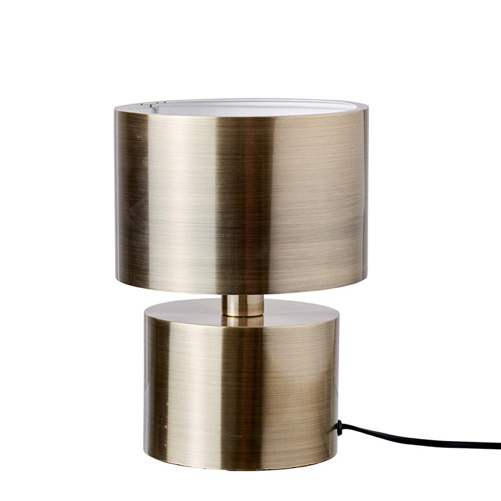 Stolní lampa DybergLarsen Silence, 25 cm, mosaz