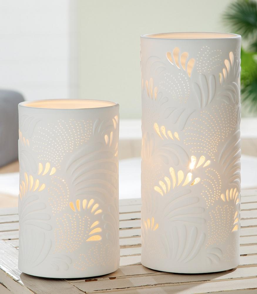 Stolní lampa Felis, bílá