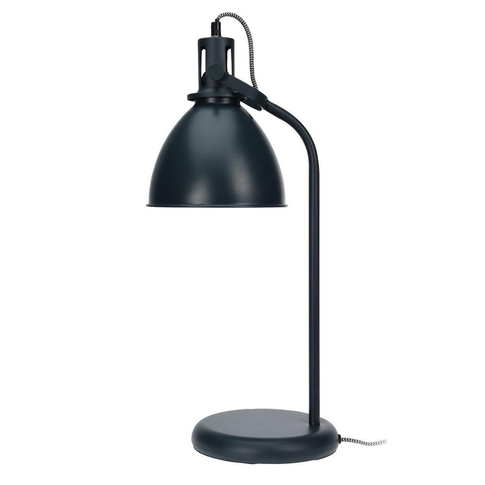 Stolní lampa Havet, 49 cm, grafitová