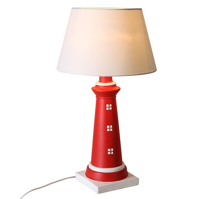 Stolní lampa House, 61 cm, červená