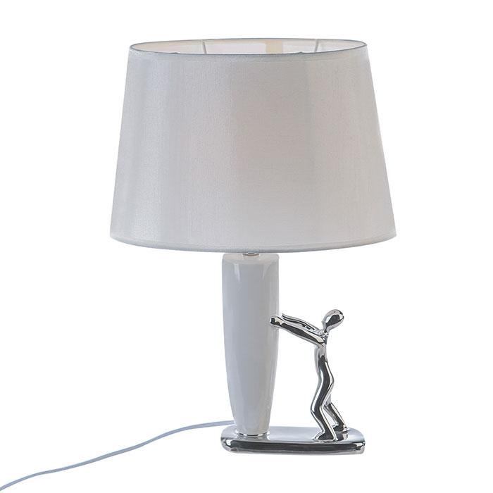 Stolní lampa keramická Man, 44 cm