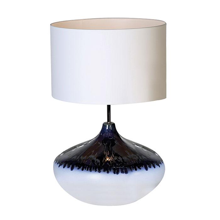 Stolní lampa keramická Vulcano, 62 cm