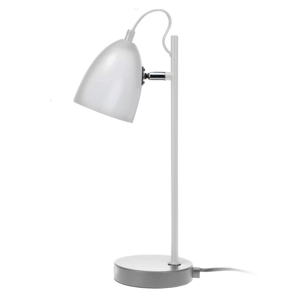 Stolní lampa Ljusa, 37 cm, bílá