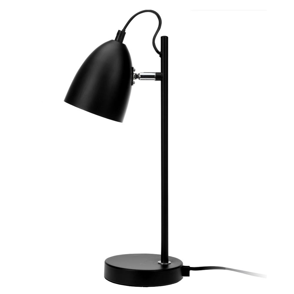 Stolní lampa Ljusa, 37 cm, černá