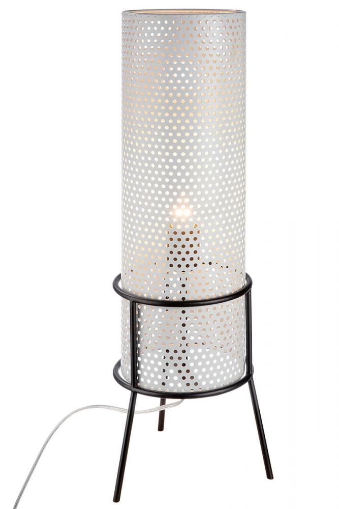 Stolní lampa Madla, bílá