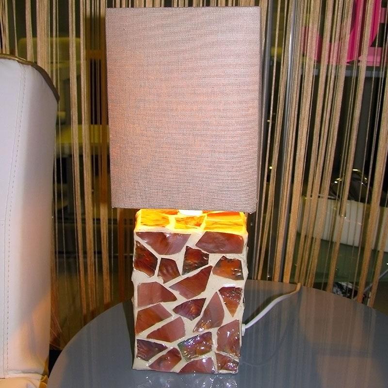 Stolní lampa Mosaic, 41 cm