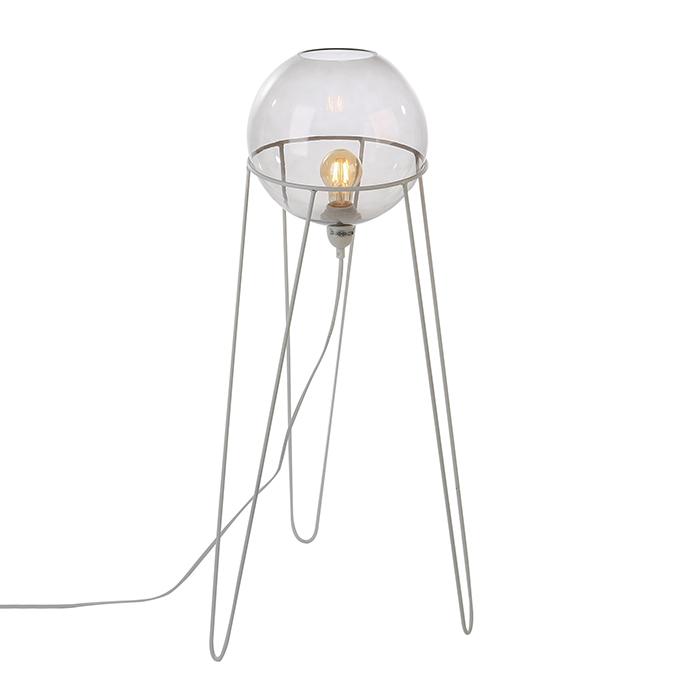 Stolní / podlahová lampa Globe, 69 cm, bílá