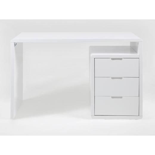 c4823d039 Moderný pracovný stôl so zásuvkami Conty, 118 cm | DESIGN OUTLET