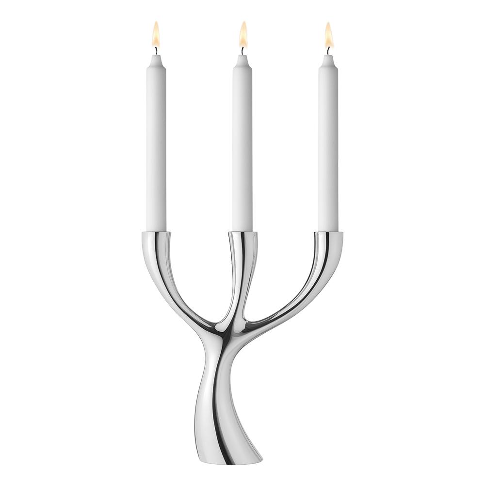 Svícen na 3 svíčky Cobra
