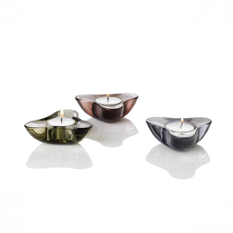 Svícen pro čajovou svíčku Aura, 9 cm, podzimní kolekce ´11
