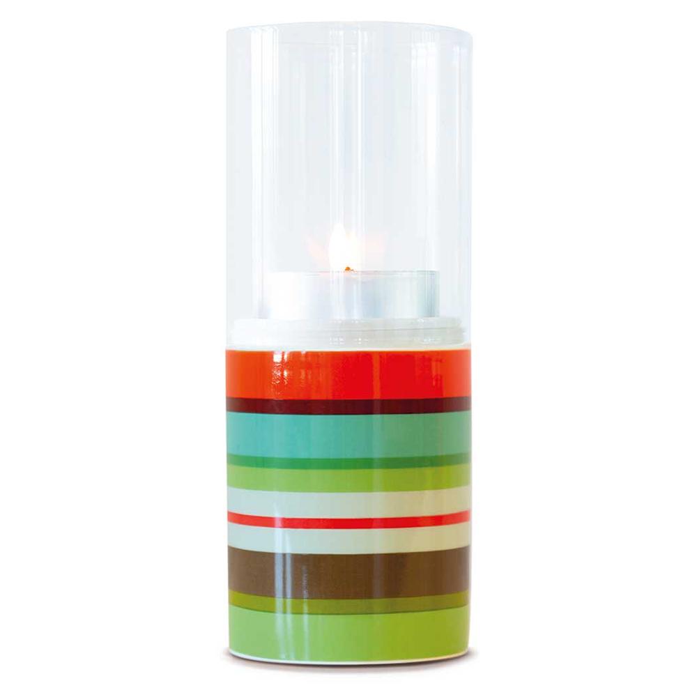 Svícen Selva, porcelán/sklo, 20 cm