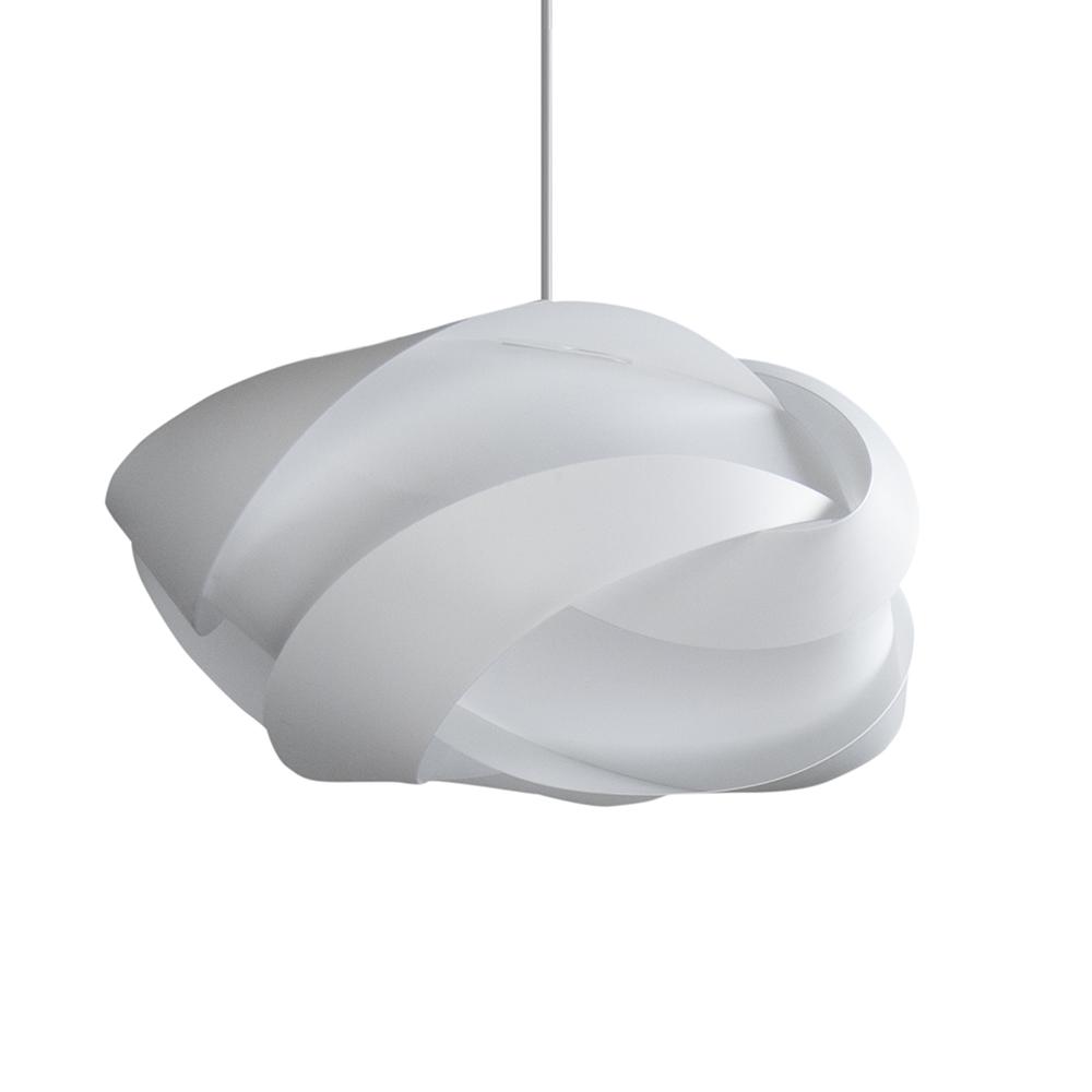 Svítidlo / lustr závěsný VITA Ribbon, bílá