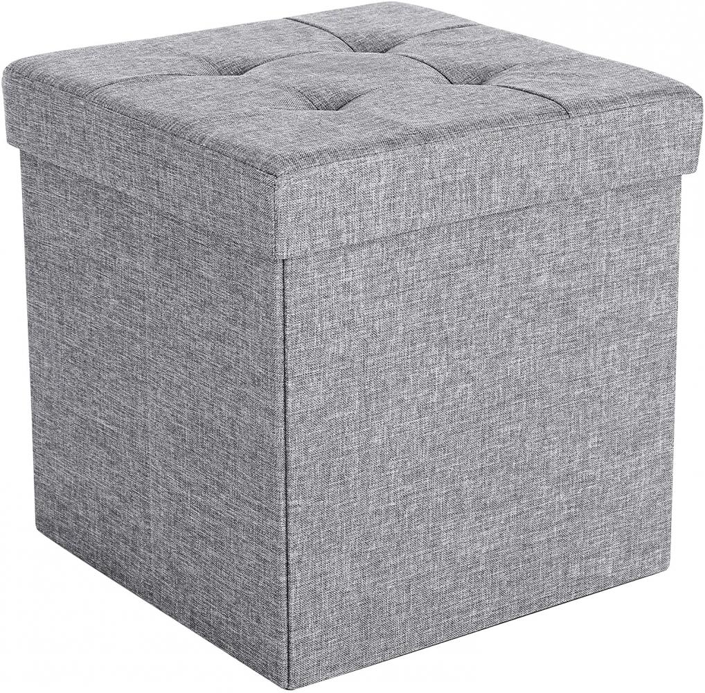 Taburet Linet, 38 cm, tmavě šedá