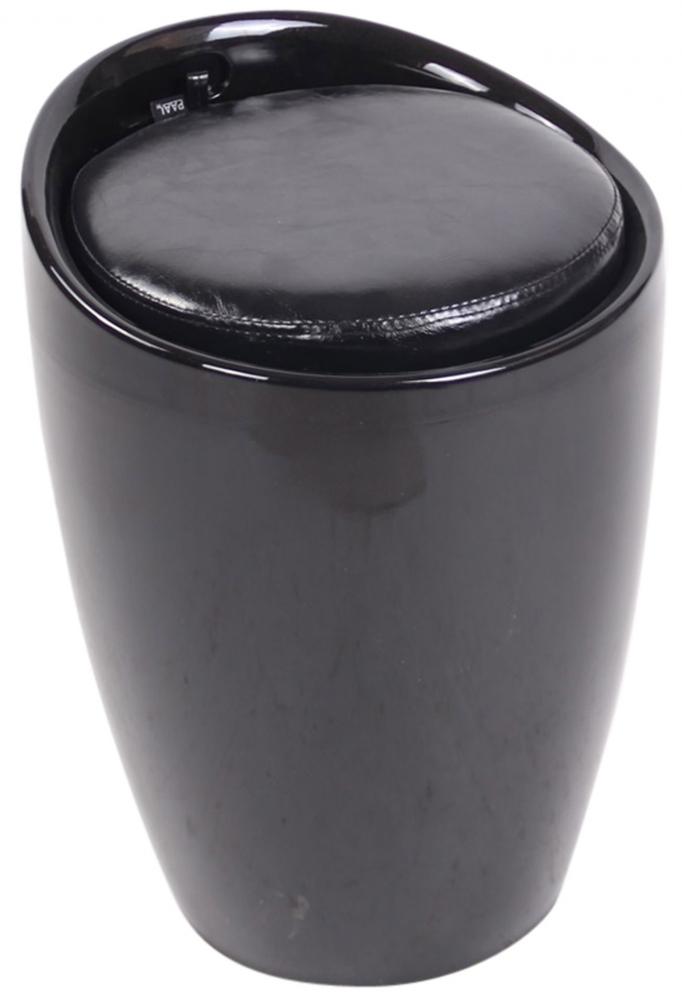 Taburetka Annecy, černá