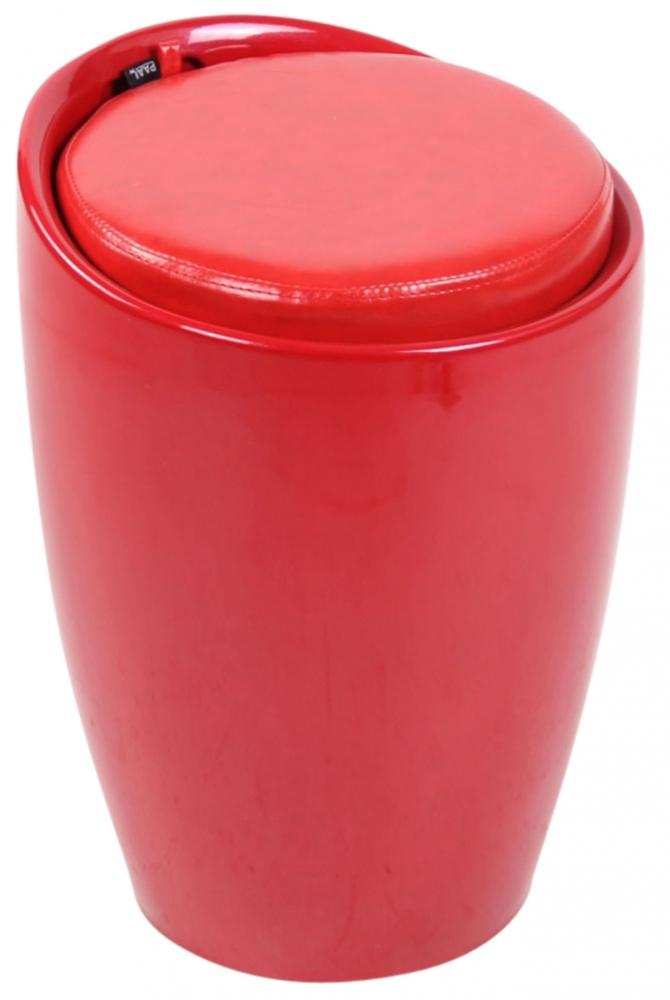 Taburetka Annecy, červená