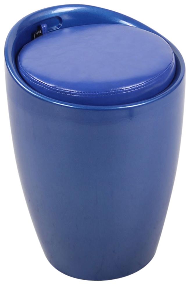 Taburetka Annecy, modrá