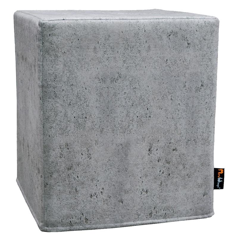 Taburetka Betón, 40 cm, šedá