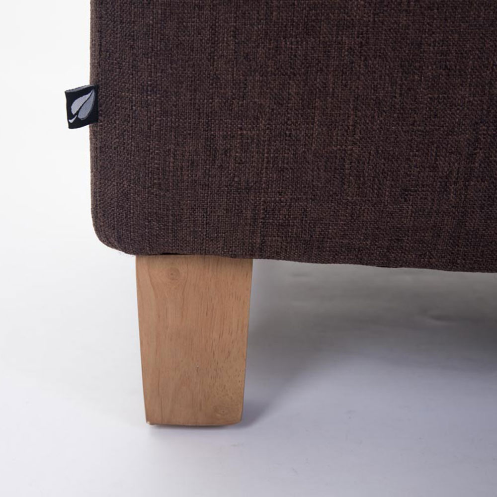 Taburetka s dřevěnými nohami Cairo