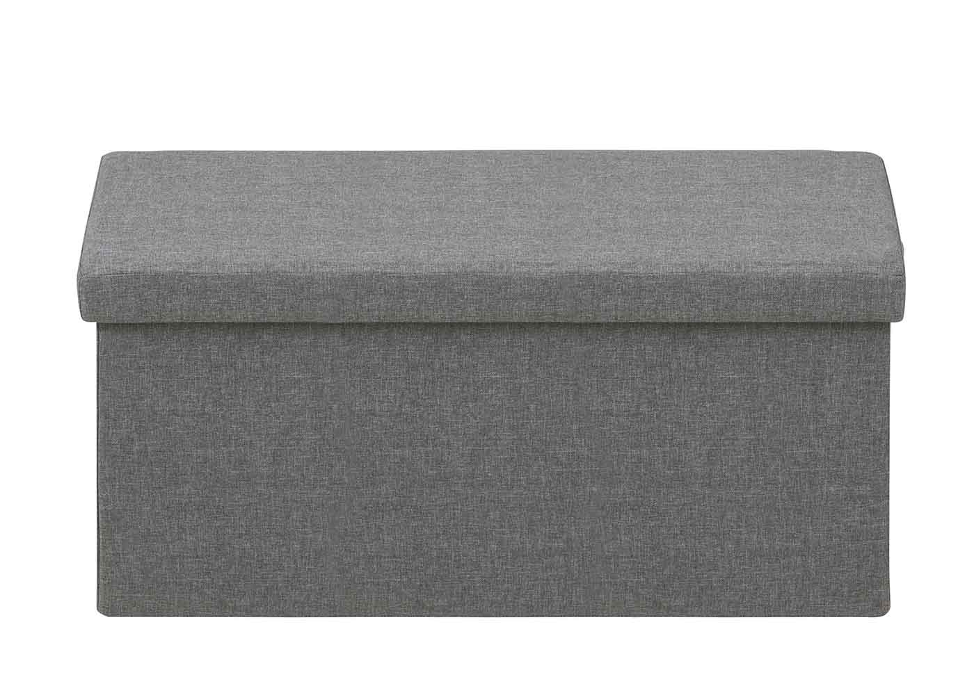 Taburetka s vekom skladacia Simon, 80 cm, svetlo šedá, svetlo šedá
