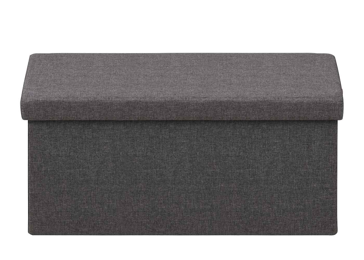 Taburetka s vekom skladacia Simon, 80 cm, tmavo šedá, tmavo šedá