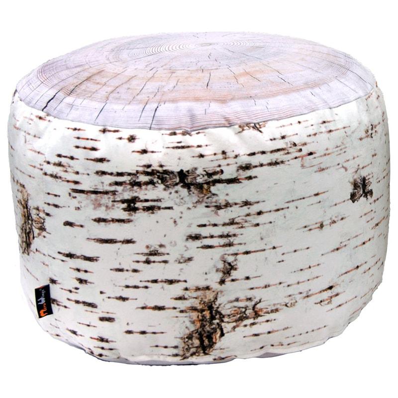 Taburetka / stolička Birch, 60 cm, biela