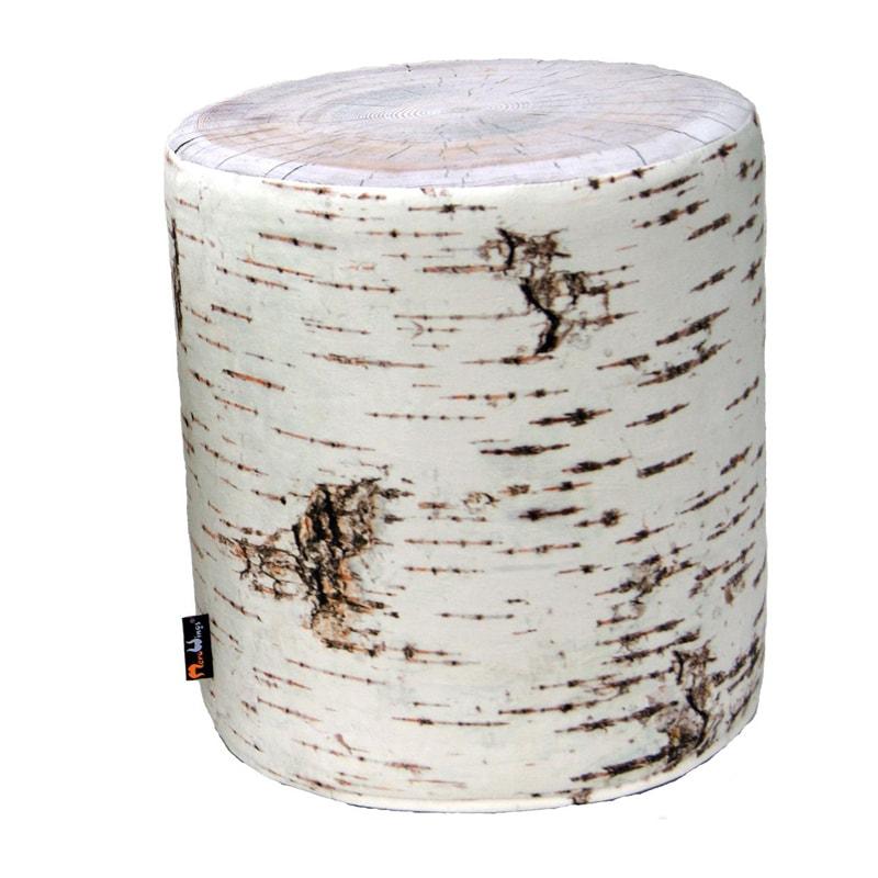 Taburetka / stolička Birch outdoor, 40 cm, biela