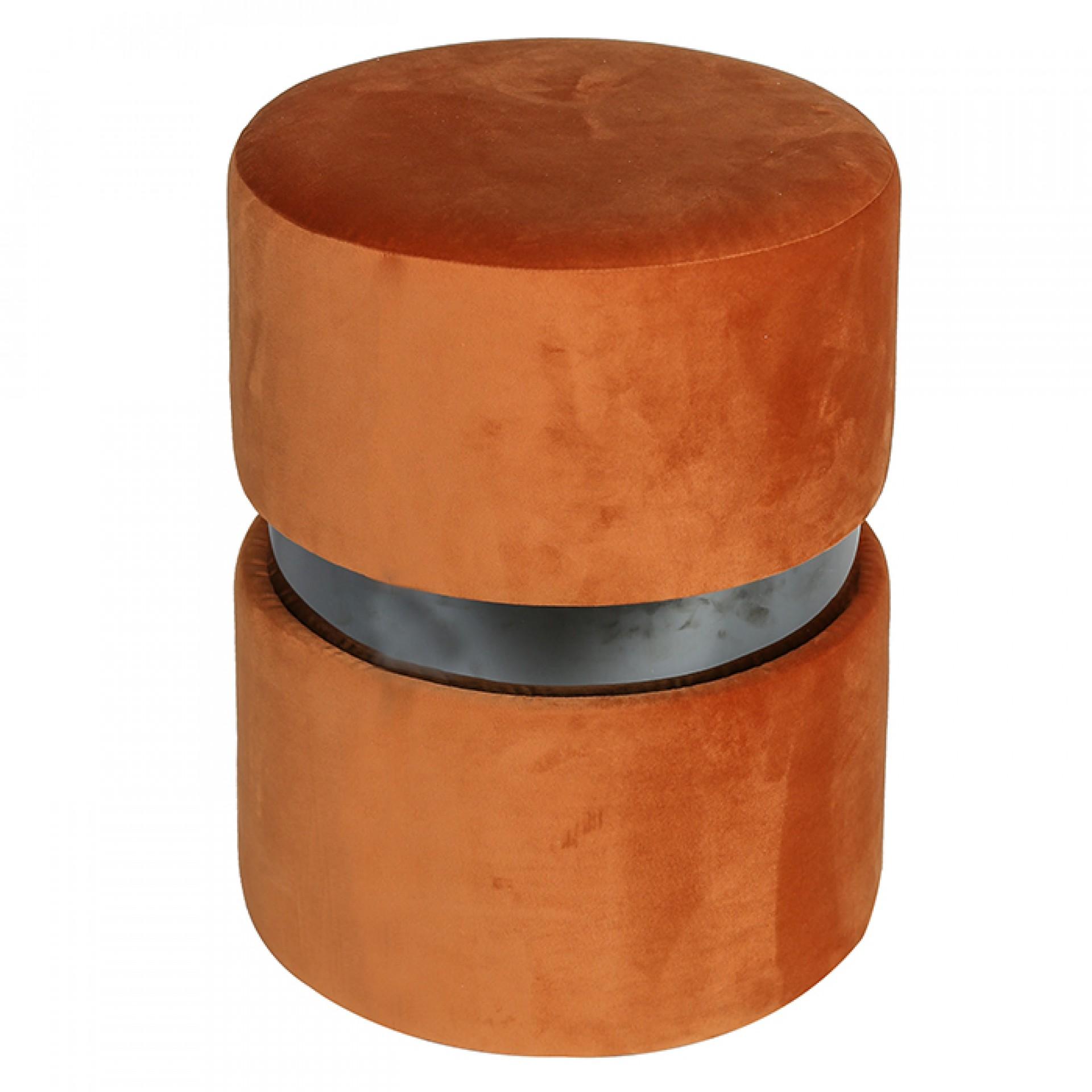 Taburetka / stolička Delight, 46 cm, oranžová