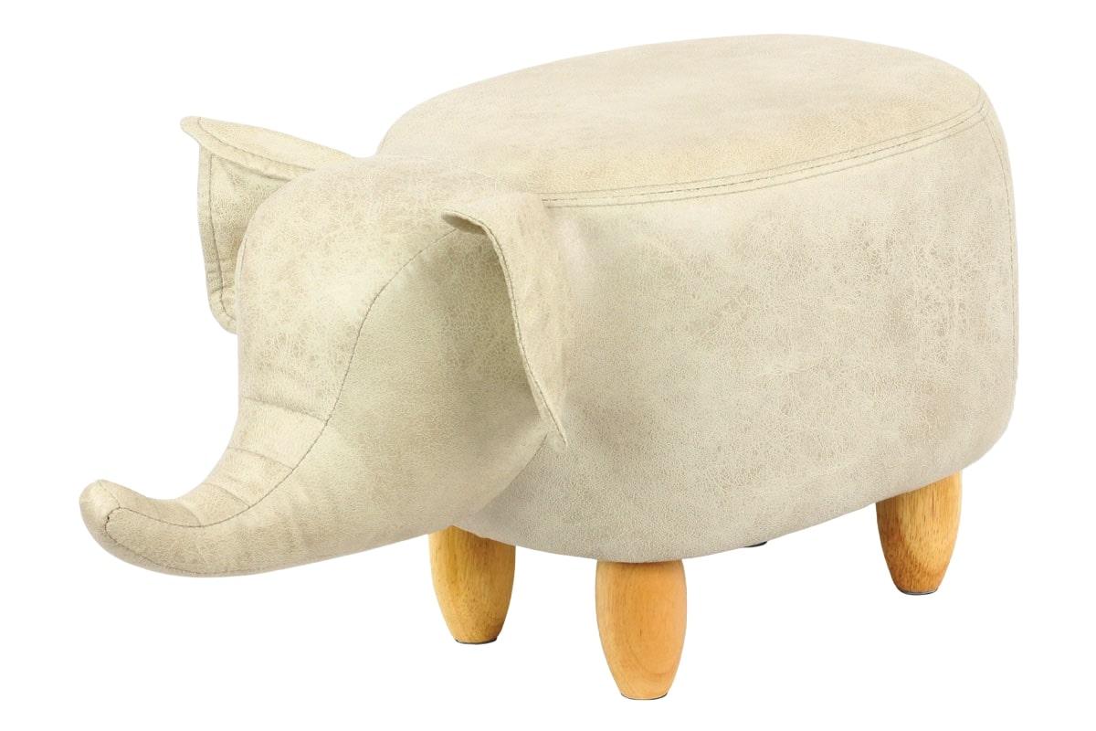 Taburetka / stolička slon Ryan, textil