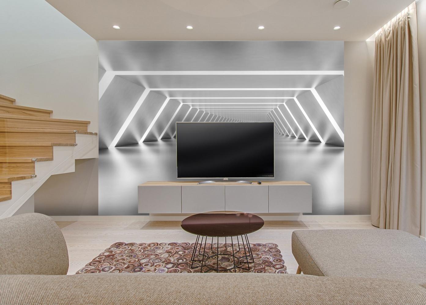 Tapeta 3D Tunel, 504 x 310 cm