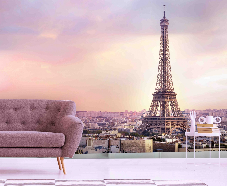 Tapeta Červánky v Paříži, 216 x 140 cm