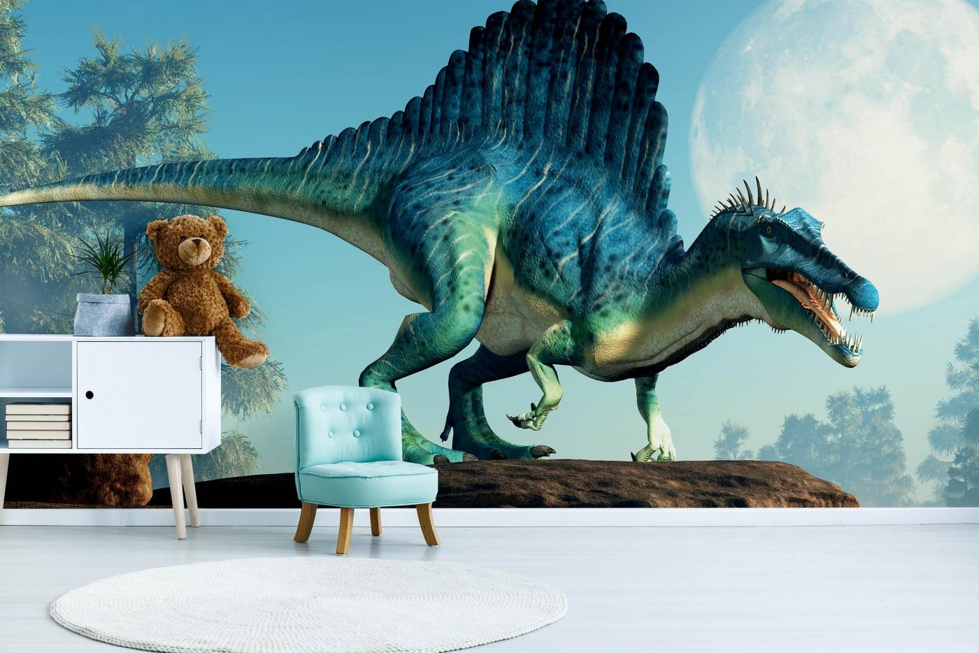 Tapeta Dinosaurus, 144 x 105 cm