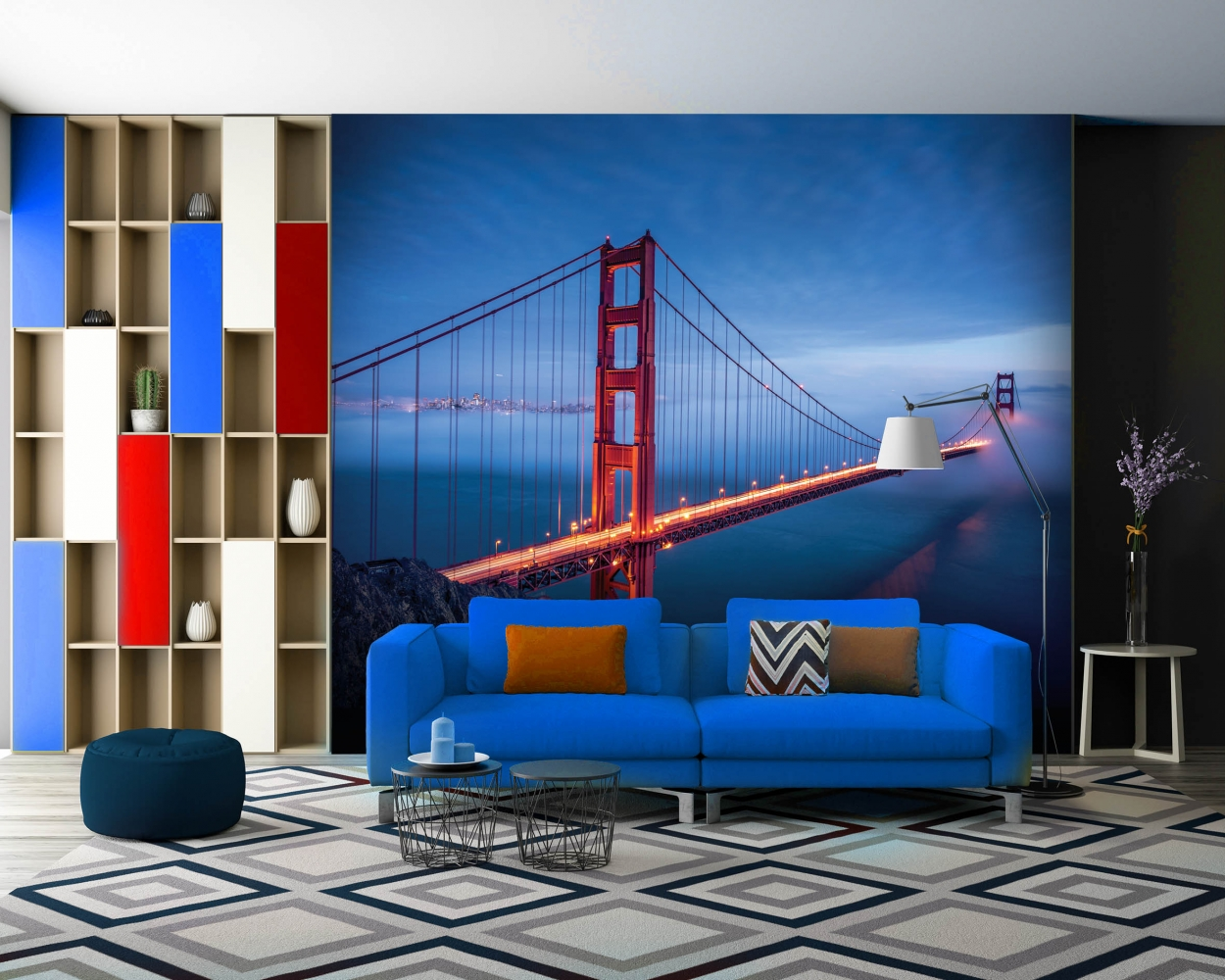 Tapeta Golden Gate Bridge, 432 x 290 cm