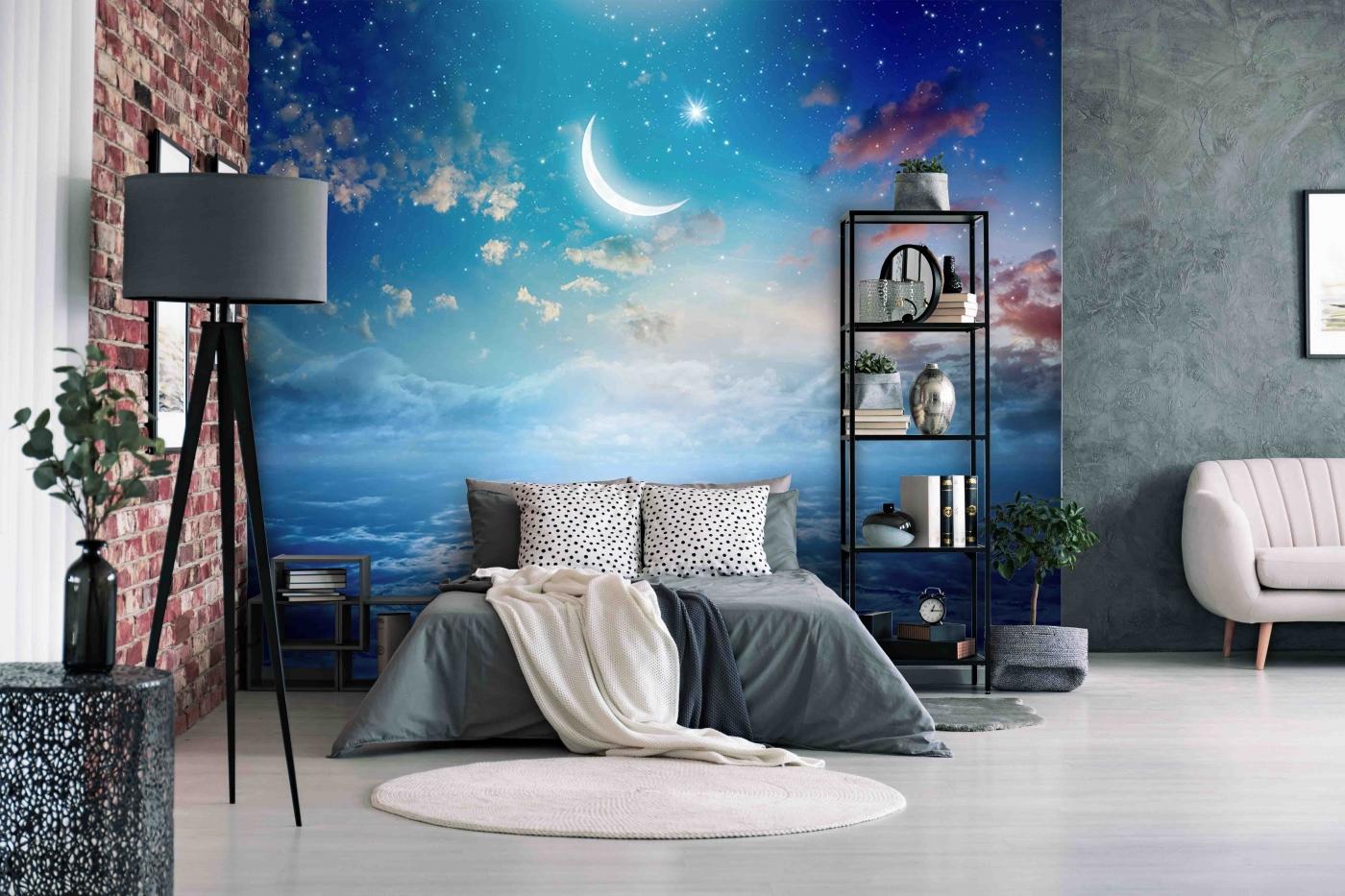 Tapeta Noční obloha, 144 x 105 cm