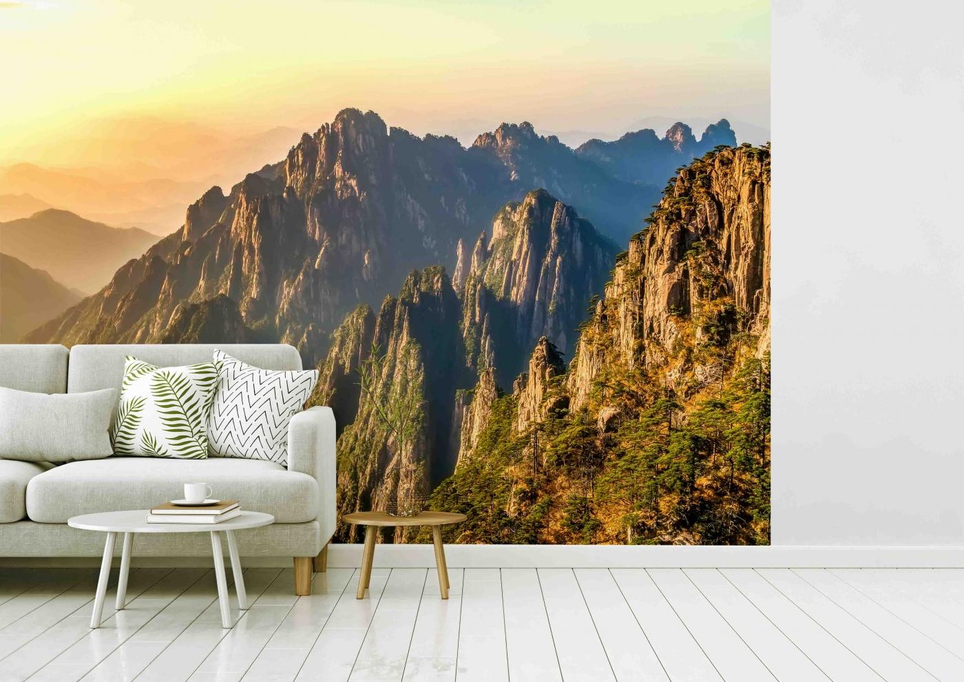 Tapeta Skalnaté hory, 216 x 140 cm