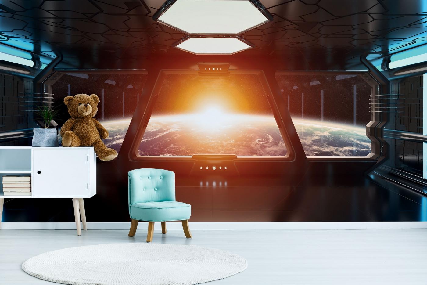 Tapeta Vesmírná loď, 360 x 260 cm