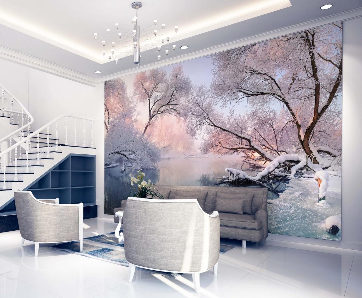 Tapeta Zimní krajina, 144 x 105 cm