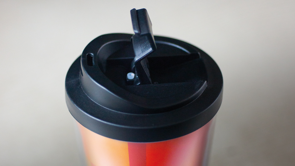 Termohrnek s víčkem Verano, 18 cm
