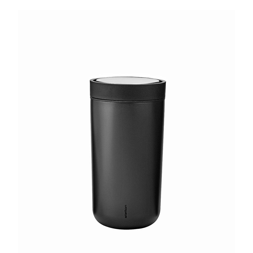 Termohrnek To Go Click, 0,2 l, metalická černá