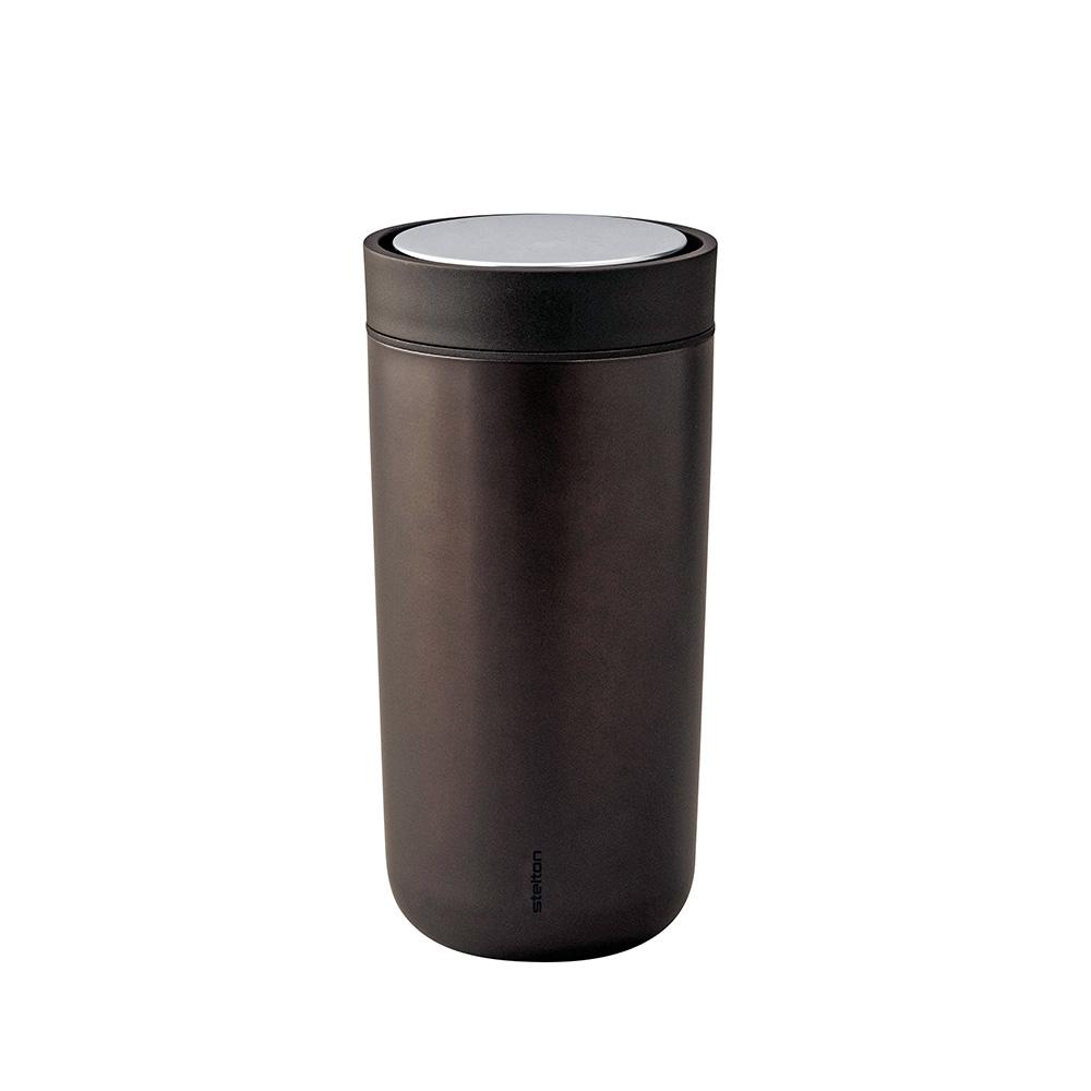 Termohrnek To Go Click, 0,34 l, metalická tmavě hnědá