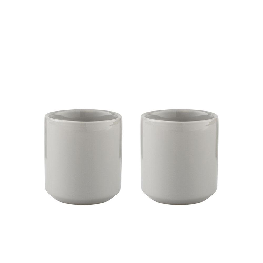 Termohrnky Core, 0,2 l, 2 ks, světle šedá